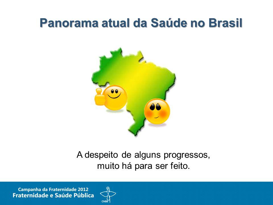 Panorama atual da Saúde no Brasil