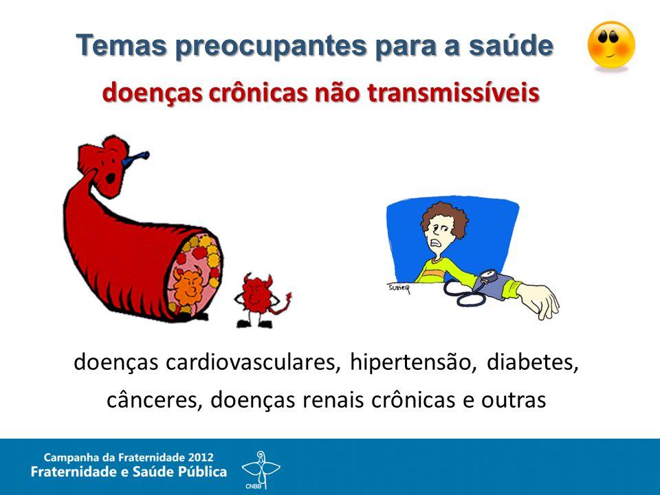 Temas preocupantes para a saúde doenças crônicas não transmissíveis