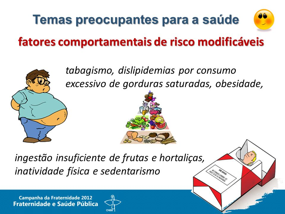 Temas preocupantes para a saúde