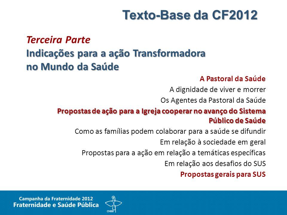 Texto-Base da CF2012 Terceira Parte