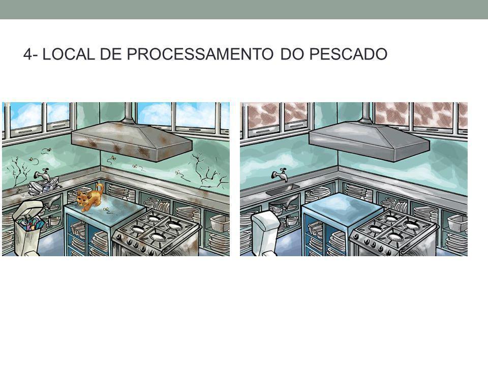 4- LOCAL DE PROCESSAMENTO DO PESCADO