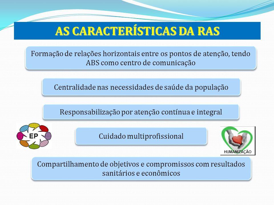 AS CARACTERÍSTICAS DA RAS