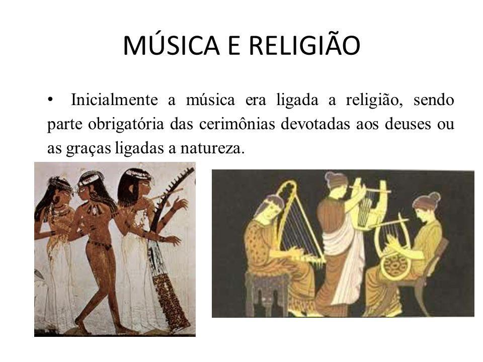 MÚSICA E RELIGIÃO