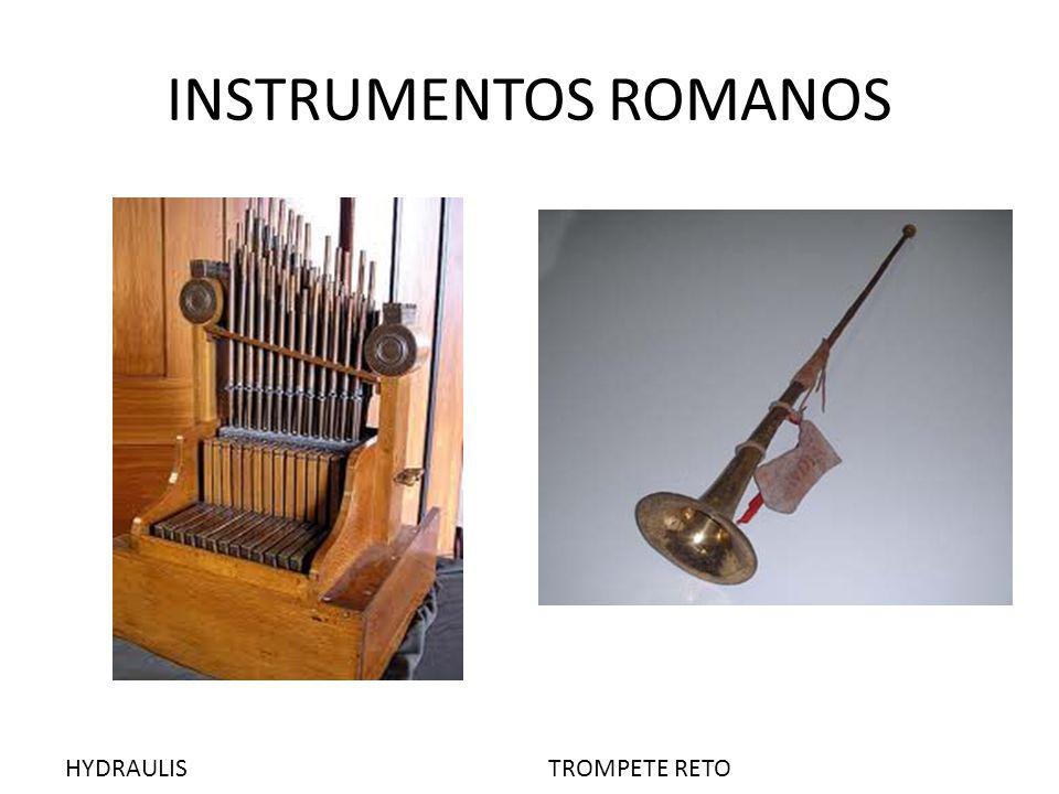 INSTRUMENTOS ROMANOS HYDRAULIS TROMPETE RETO
