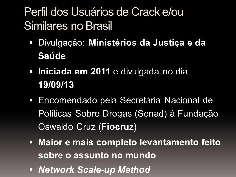 Perfil dos Usuários de Crack e/ou Similares no Brasil