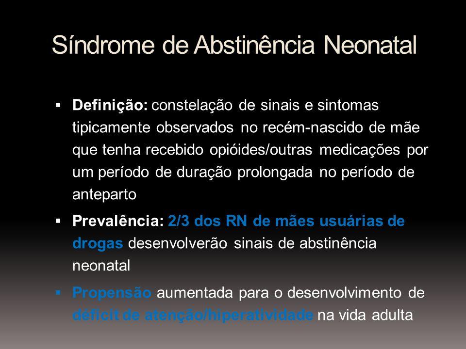Síndrome de Abstinência Neonatal