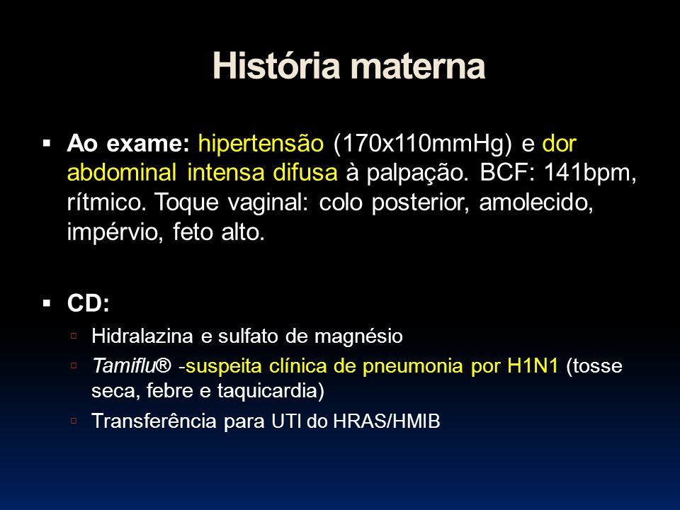 História materna
