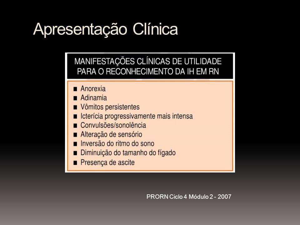 Apresentação Clínica PRORN Ciclo 4 Módulo 2 - 2007
