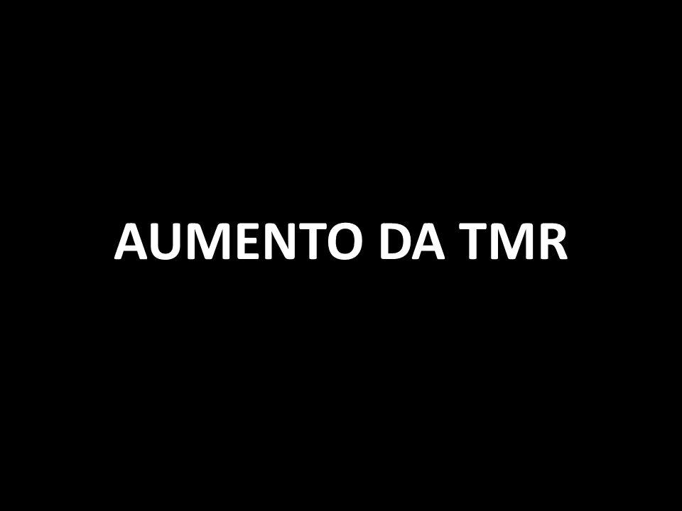 AUMENTO DA TMR