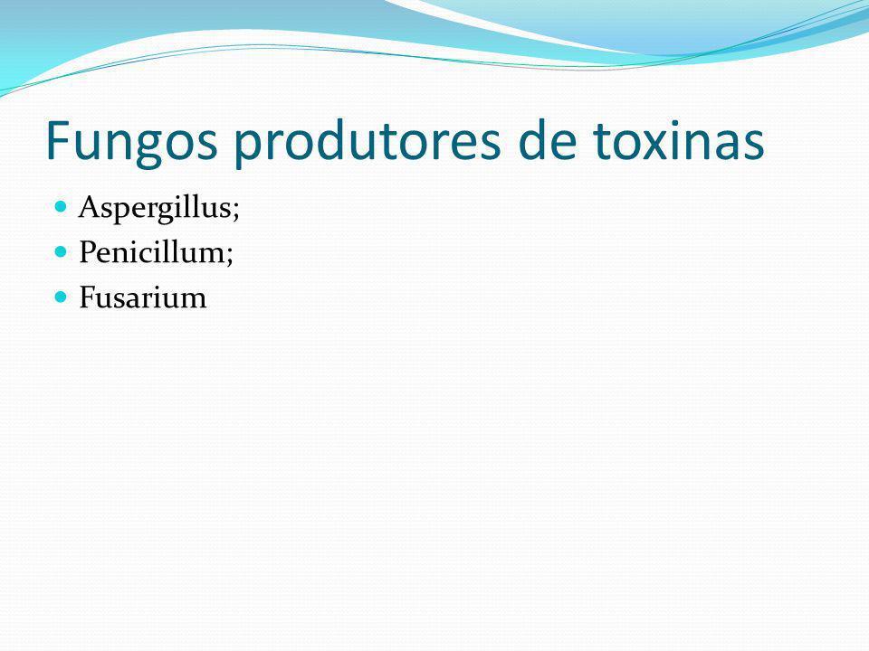Fungos produtores de toxinas