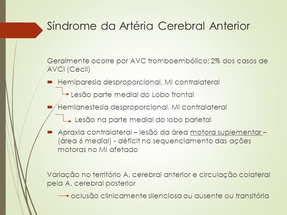 Síndrome da Artéria Cerebral Anterior