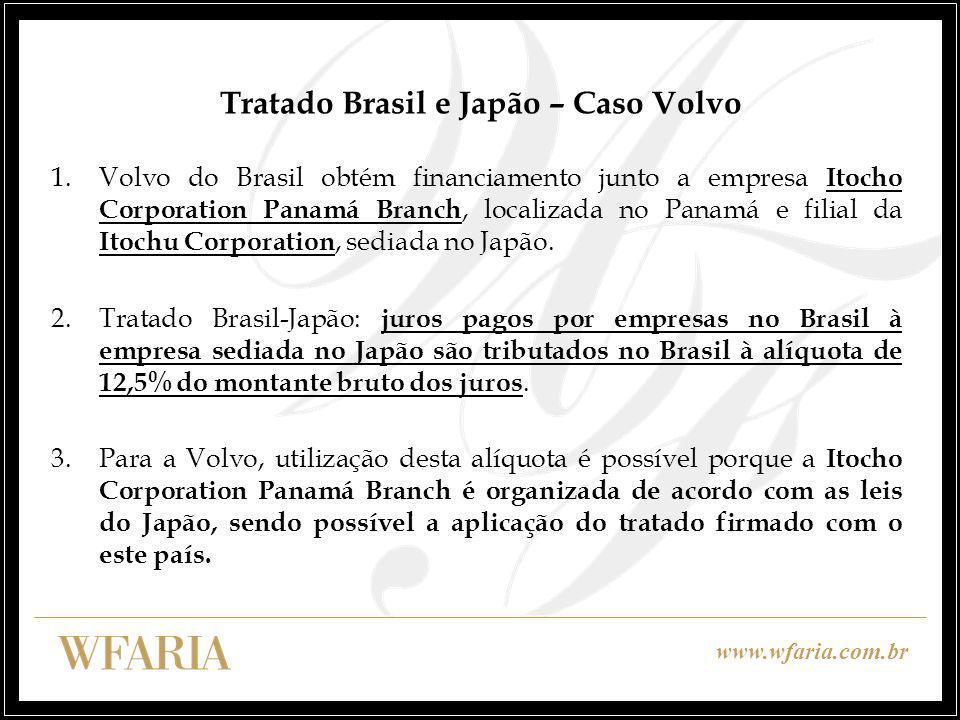Tratado Brasil e Japão – Caso Volvo