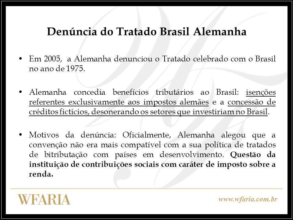 Denúncia do Tratado Brasil Alemanha