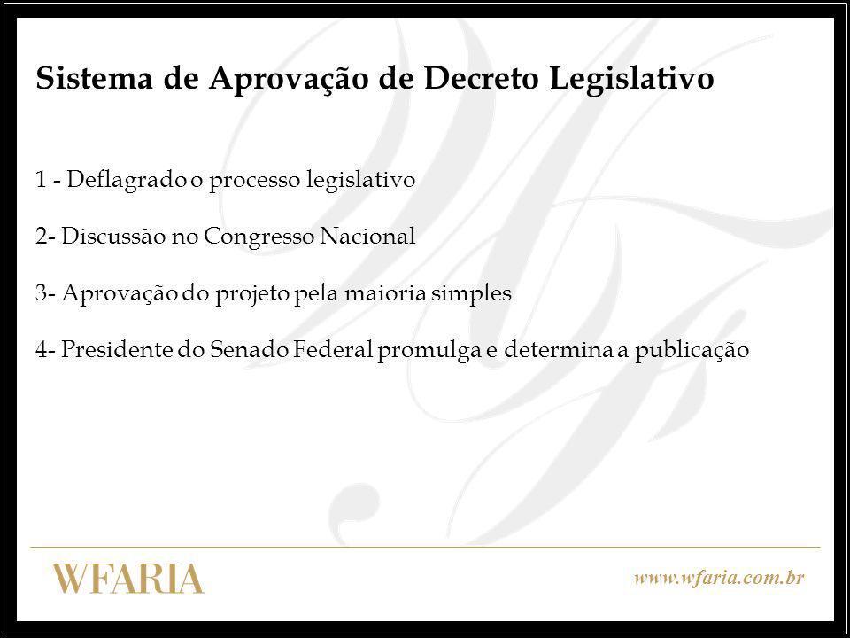 Sistema de Aprovação de Decreto Legislativo