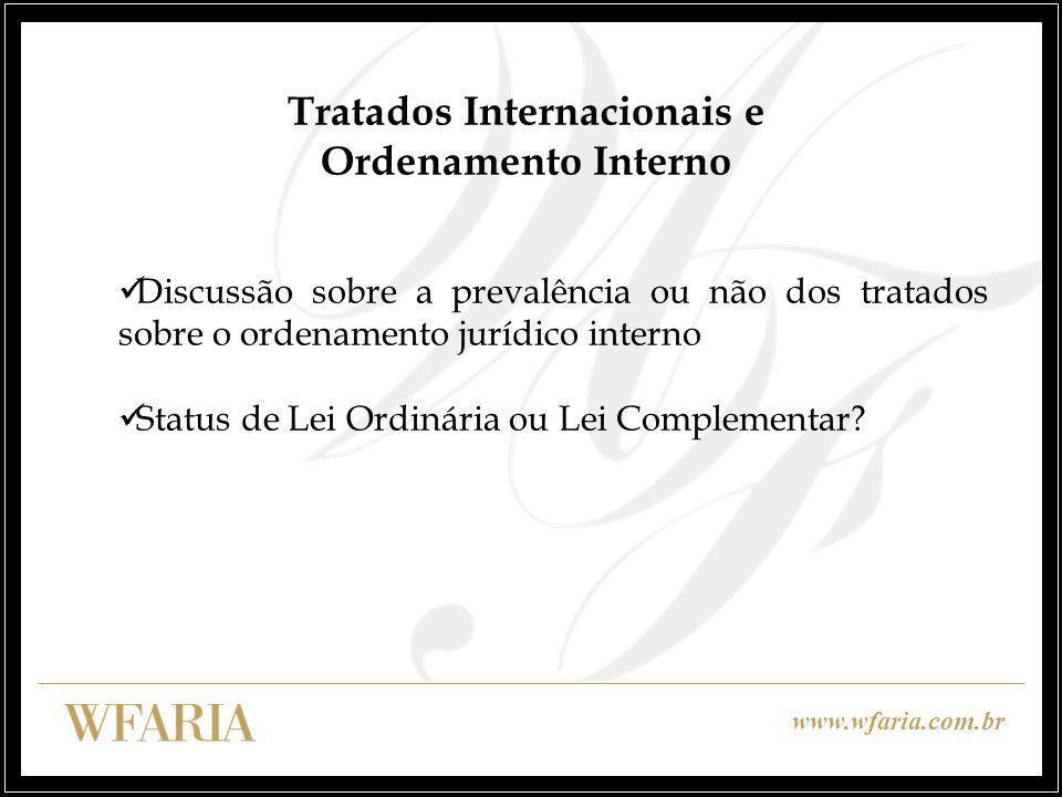 Tratados Internacionais e