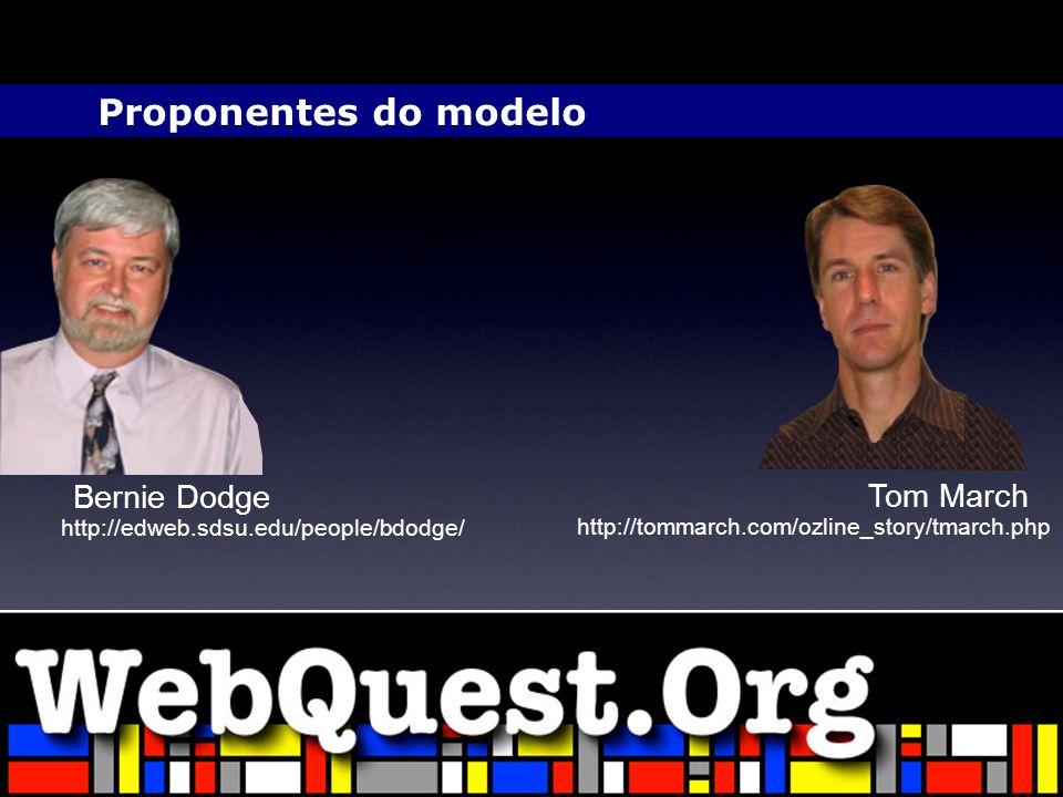 Proponentes do modelo Bernie Dodge Tom March