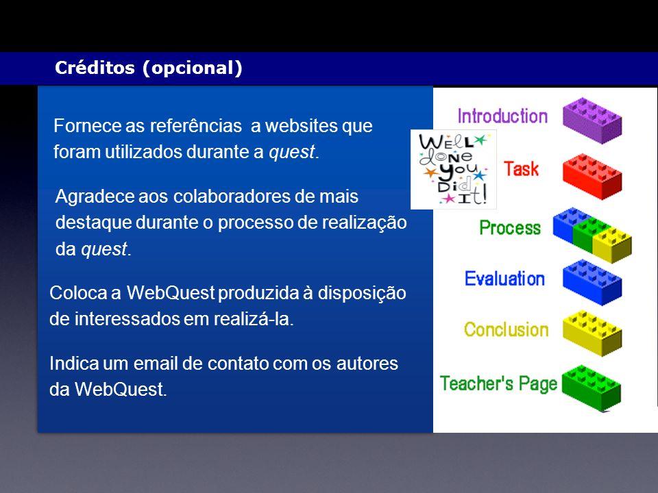 Indica um email de contato com os autores da WebQuest.