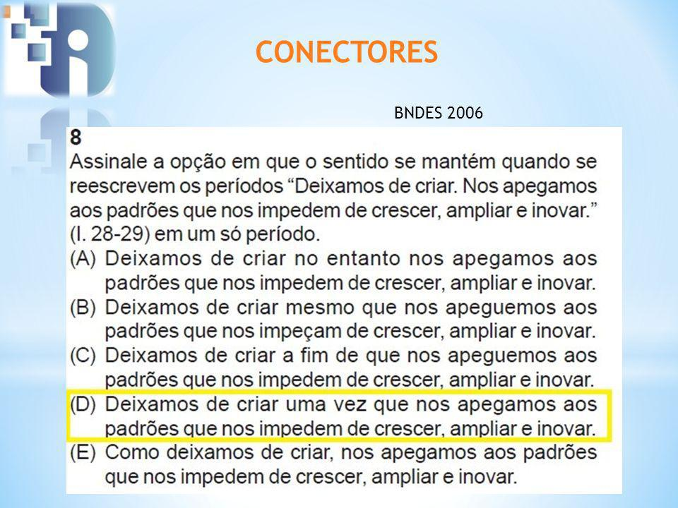 CONECTORES BNDES 2006