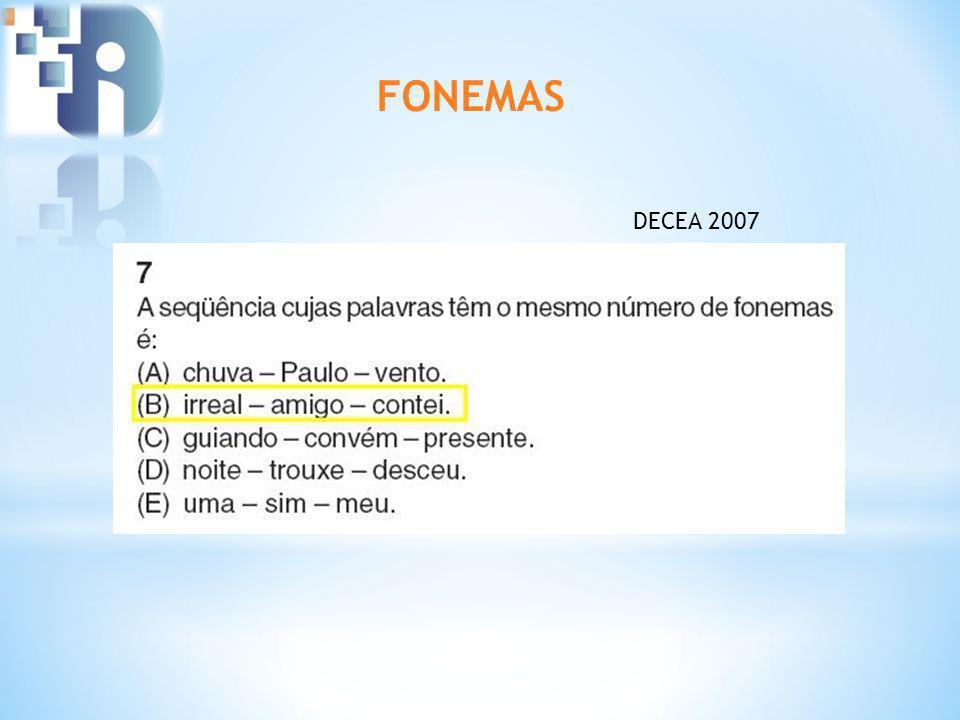 FONEMAS DECEA 2007