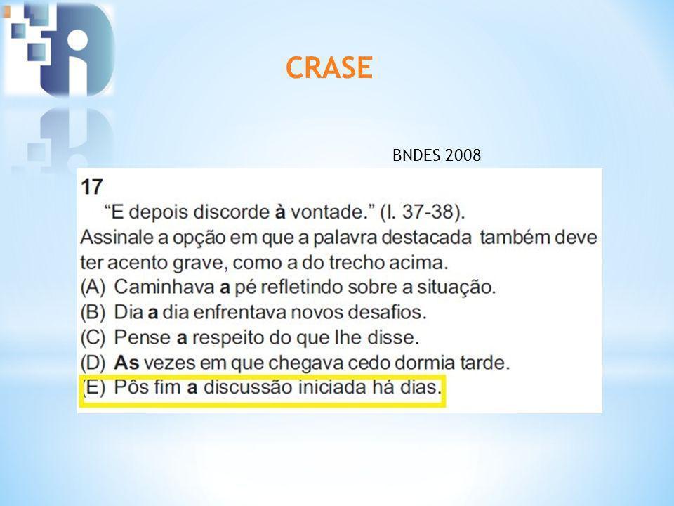 CRASE BNDES 2008