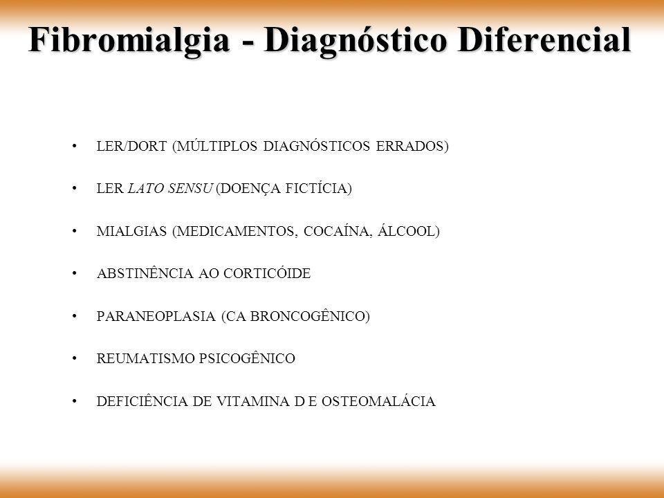 Fibromialgia - Diagnóstico Diferencial
