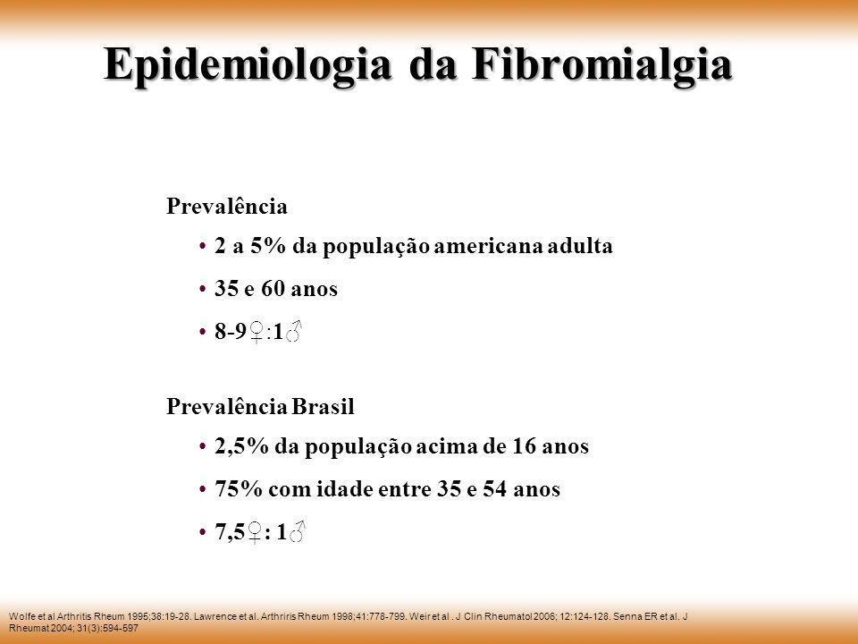 Epidemiologia da Fibromialgia