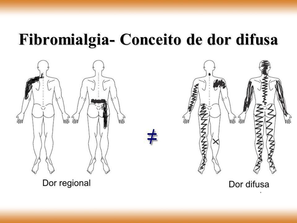 Fibromialgia- Conceito de dor difusa