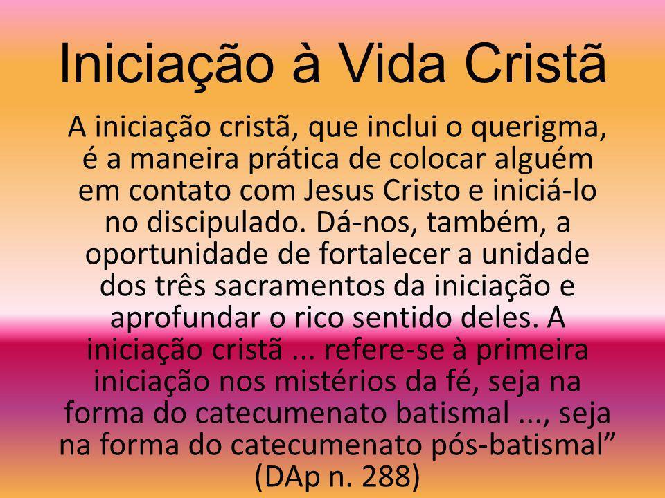 Iniciação à Vida Cristã