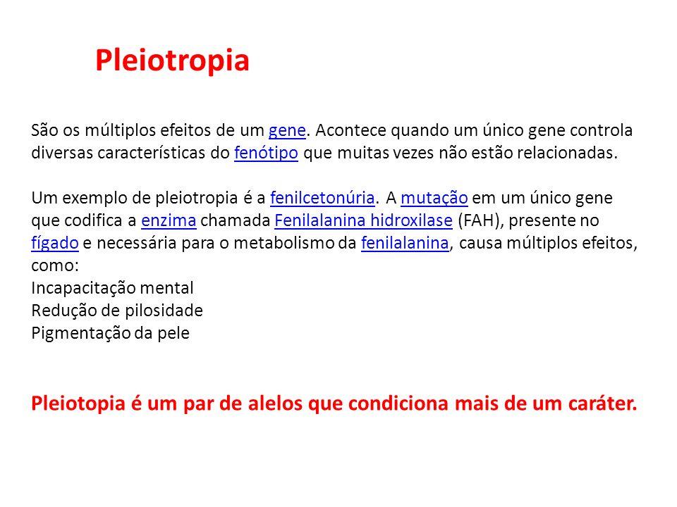 Pleiotropia