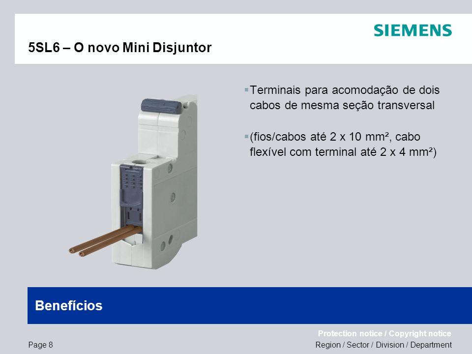 5SL6 – O novo Mini Disjuntor