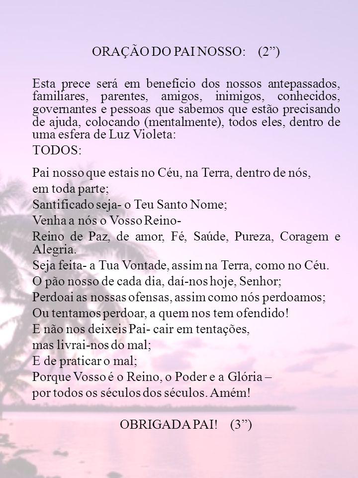 ORAÇÃO DO PAI NOSSO: (2 )