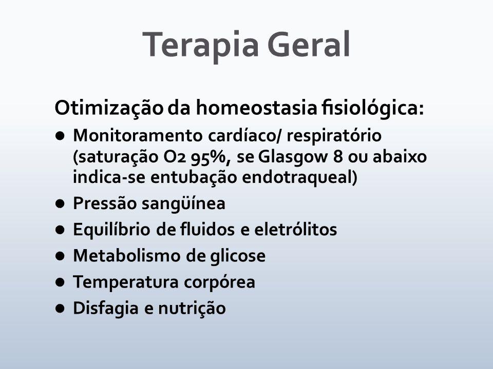 Terapia Geral Otimização da homeostasia fisiológica: