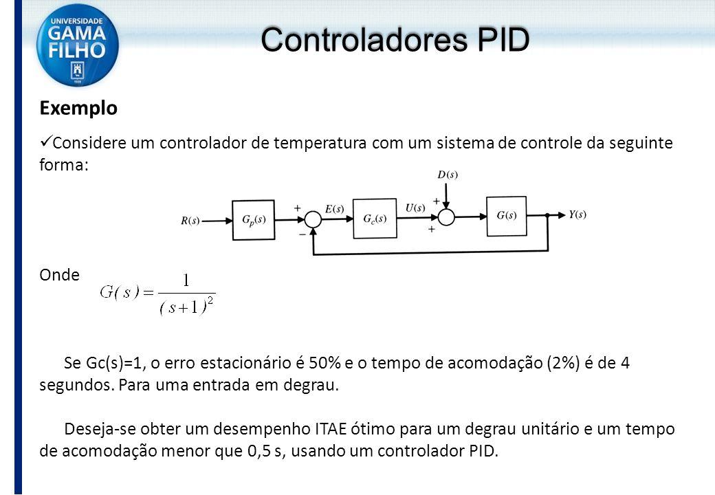 Controladores PID Exemplo