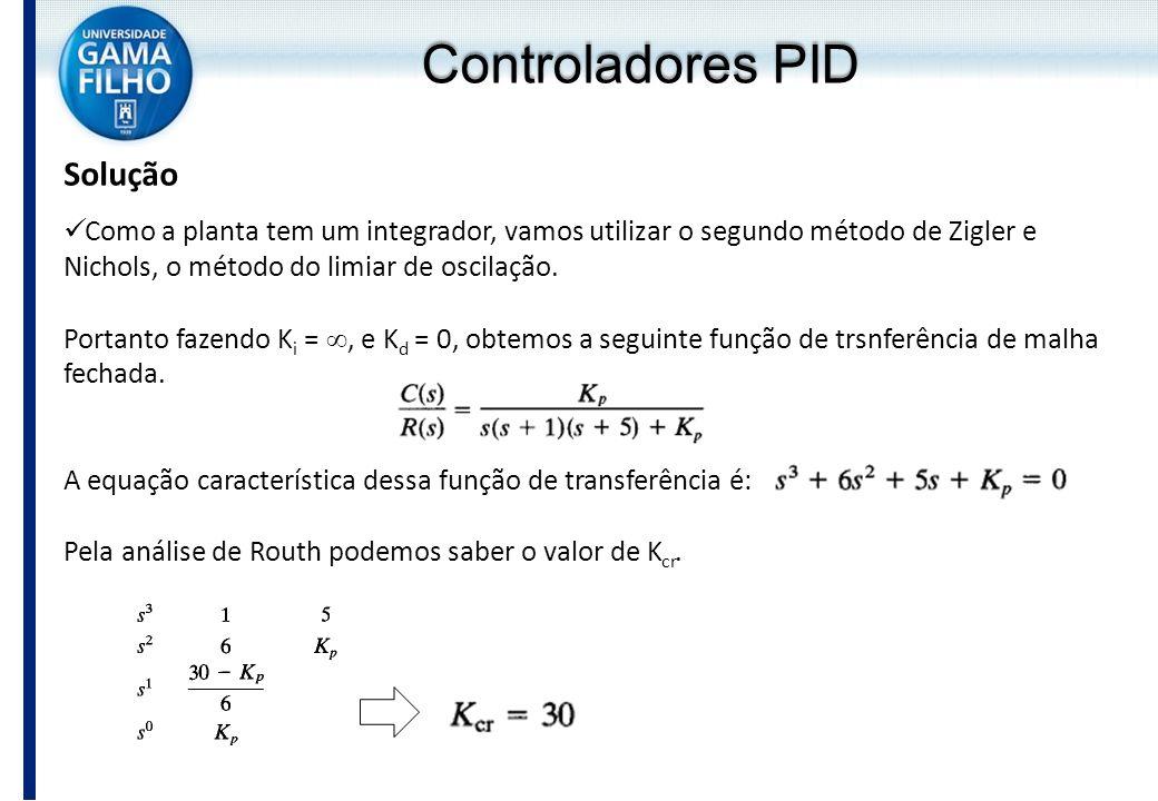 Controladores PID Solução