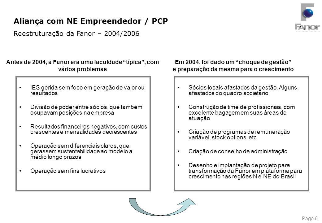 Aliança com NE Empreendedor / PCP