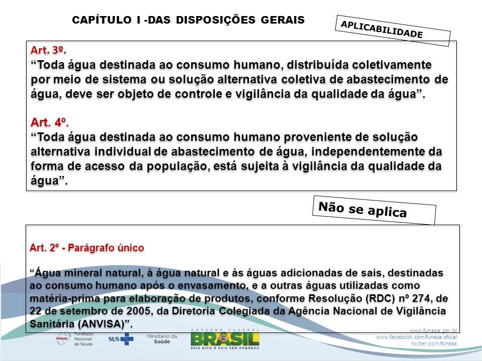 CAPÍTULO I -DAS DISPOSIÇÕES GERAIS