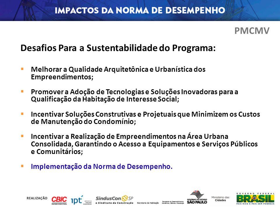 Desafios Para a Sustentabilidade do Programa: