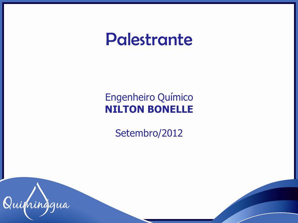 Engenheiro Químico NILTON BONELLE Setembro/2012