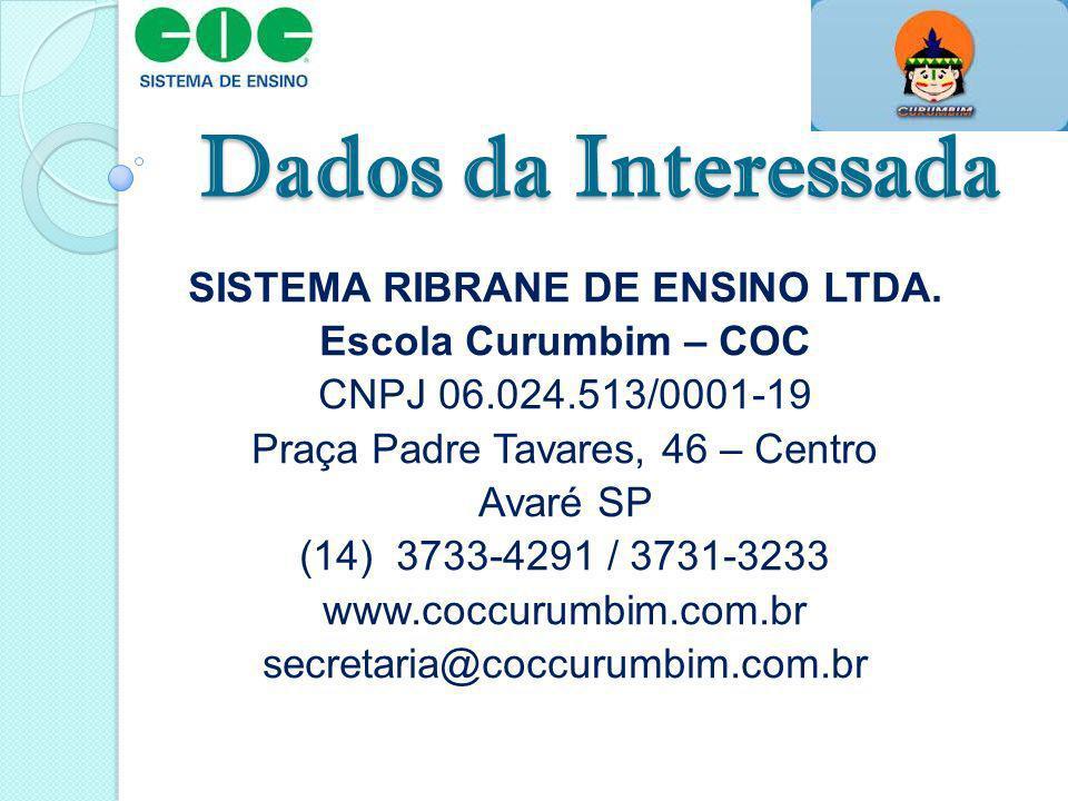 SISTEMA RIBRANE DE ENSINO LTDA.