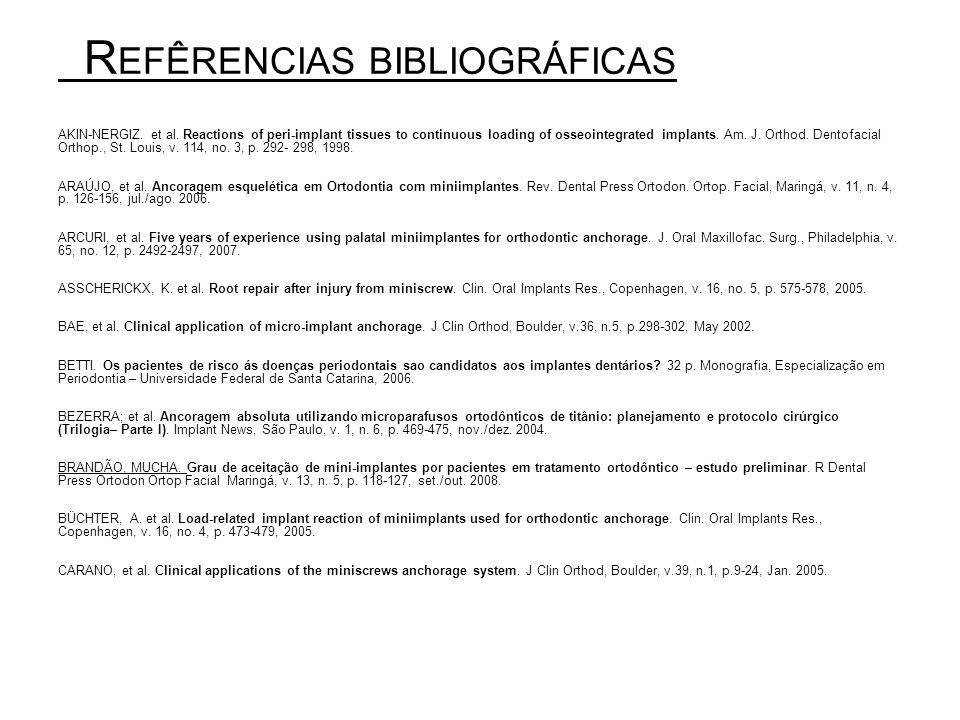 Refêrencias bibliográficas