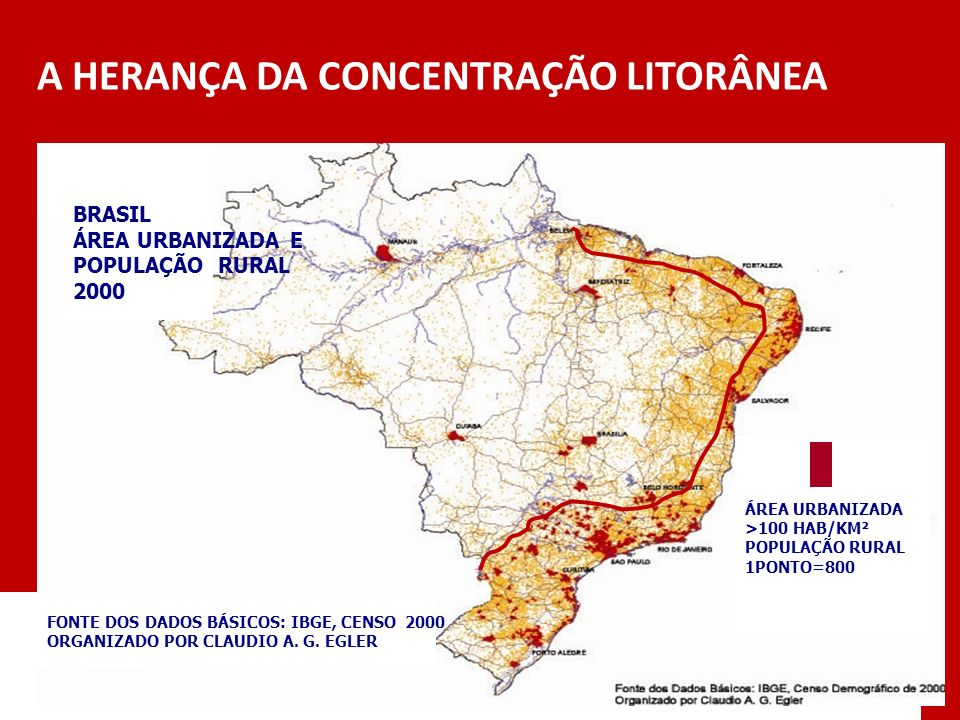 A HERANÇA DA CONCENTRAÇÃO LITORÂNEA