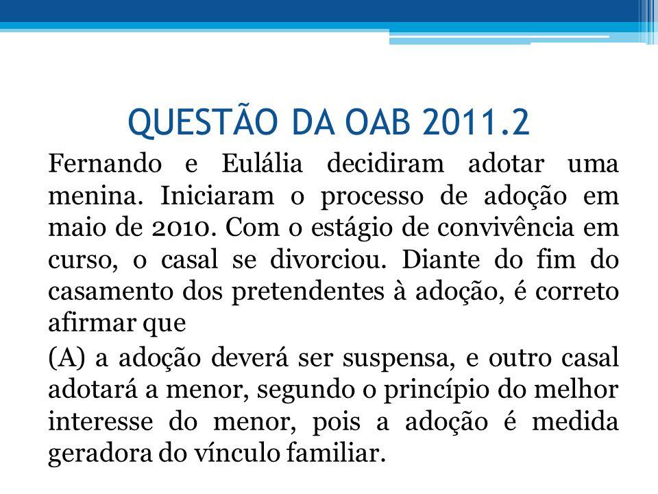 QUESTÃO DA OAB 2011.2