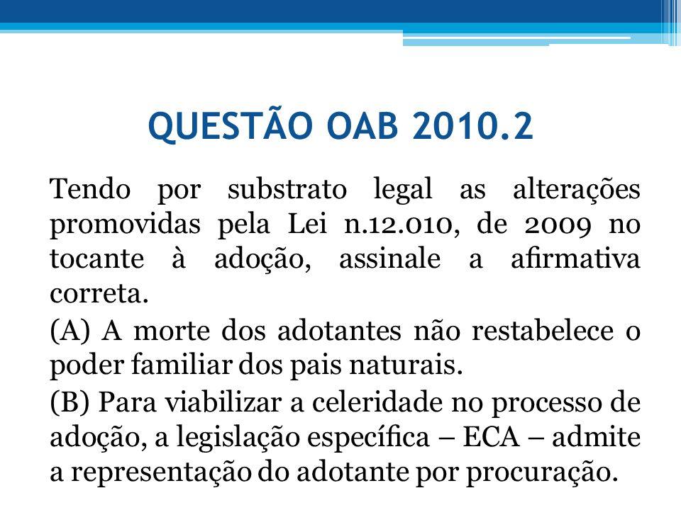 QUESTÃO OAB 2010.2