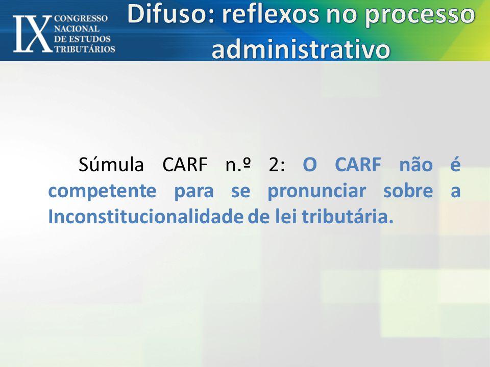 Difuso: reflexos no processo administrativo