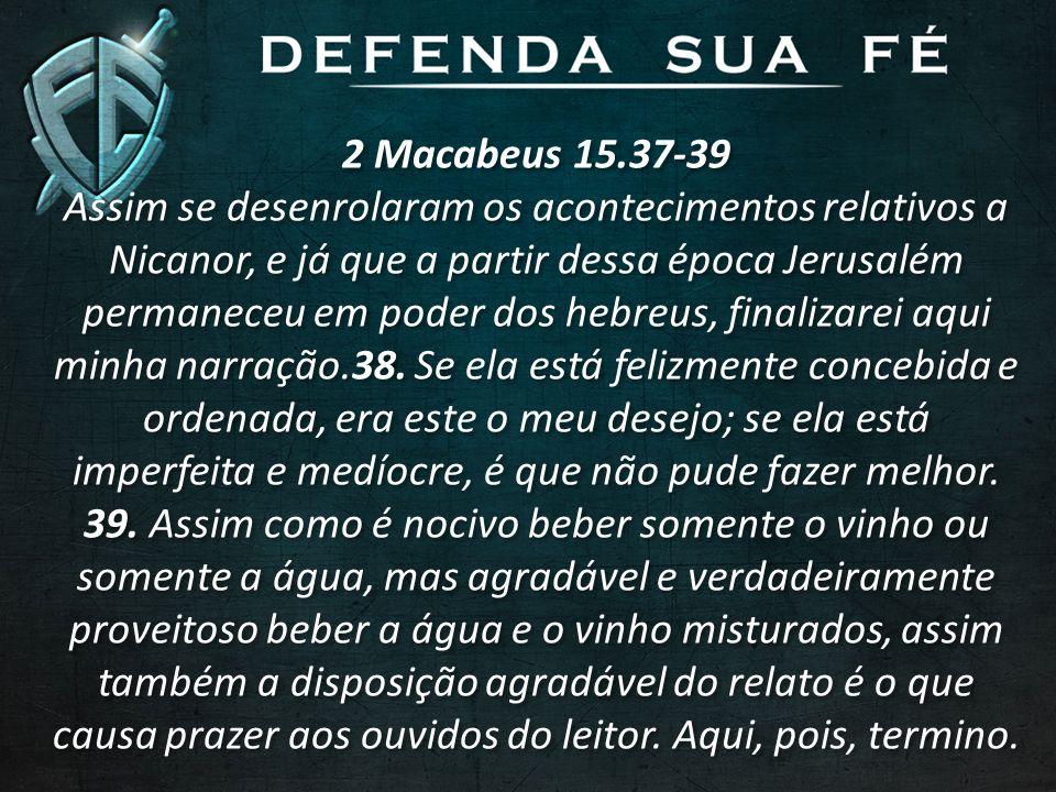 2 Macabeus 15.37-39