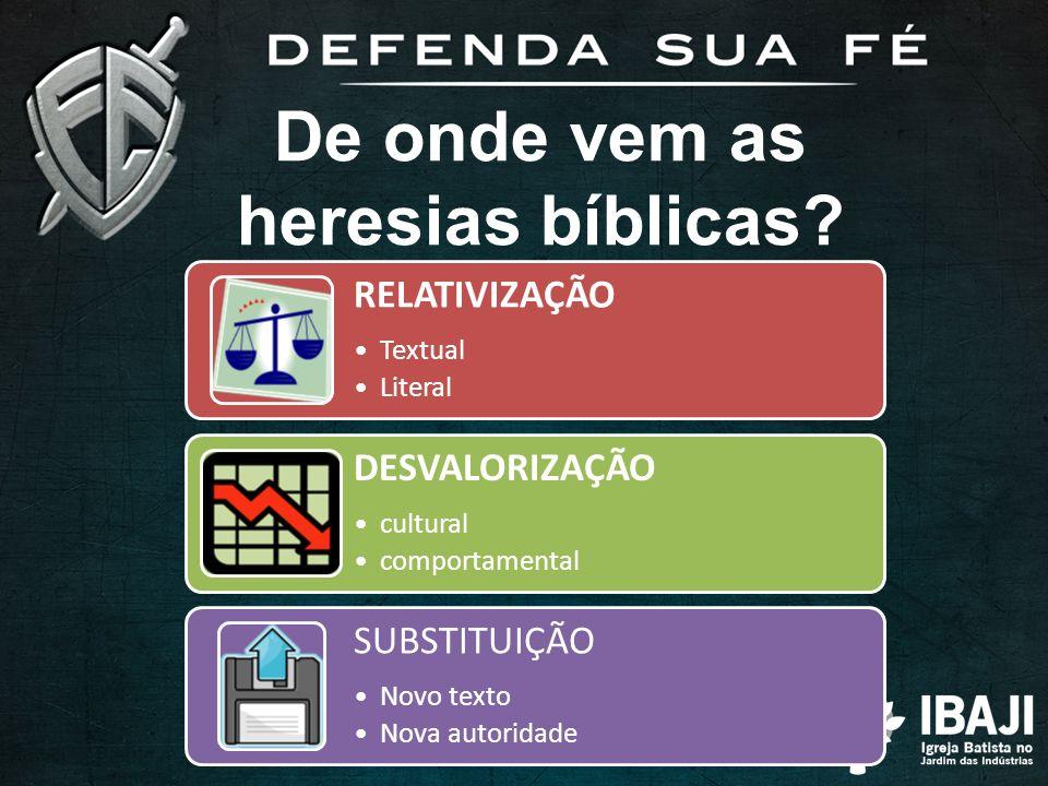 De onde vem as heresias bíblicas