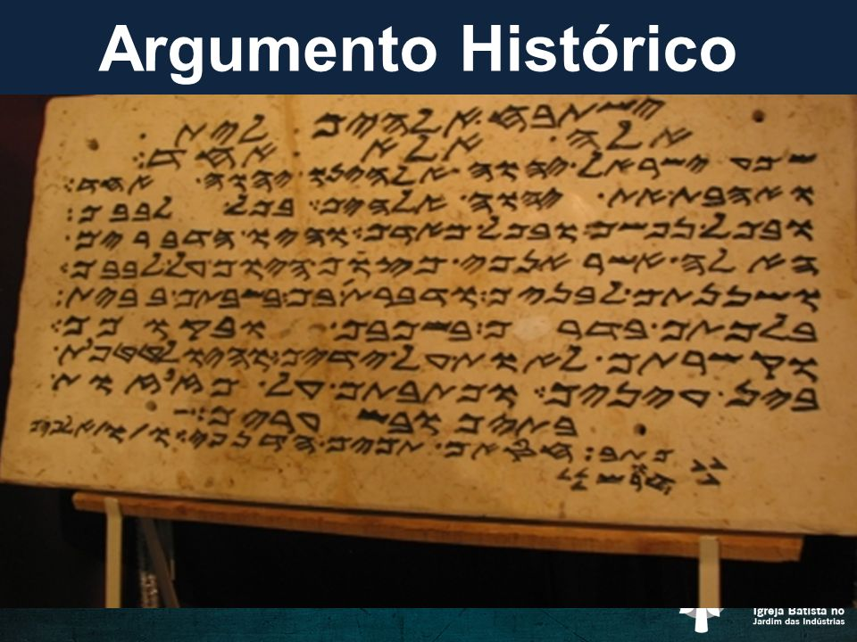 Argumento Histórico