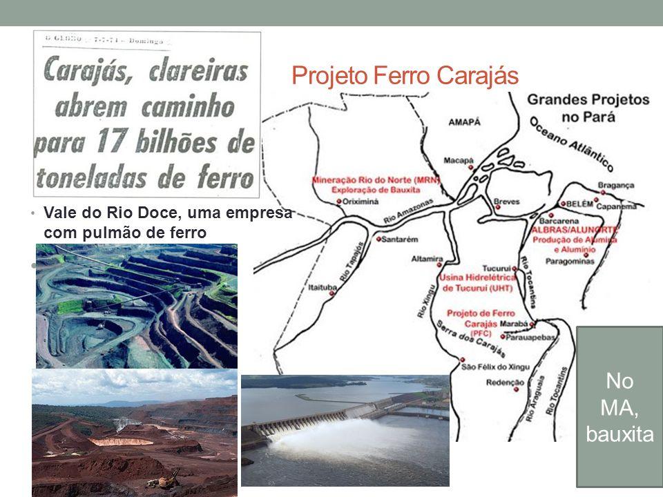 Projeto Ferro Carajás No MA, bauxita