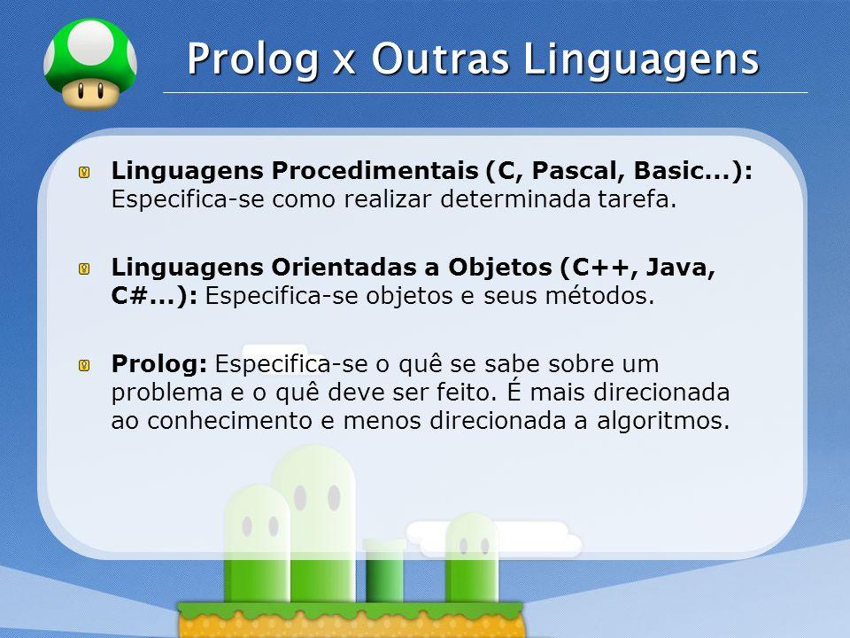 Prolog x Outras Linguagens