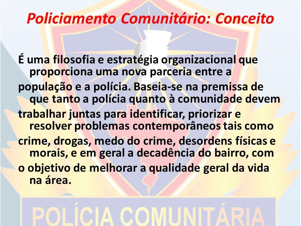 Policiamento Comunitário: Conceito